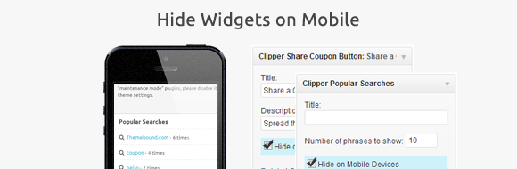 Hide WordPress Widgets on Mobile Devices