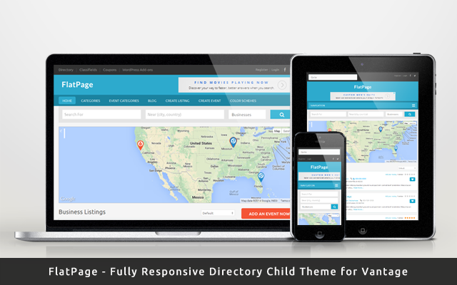 New Child Theme for Directory Listing – FlatPage