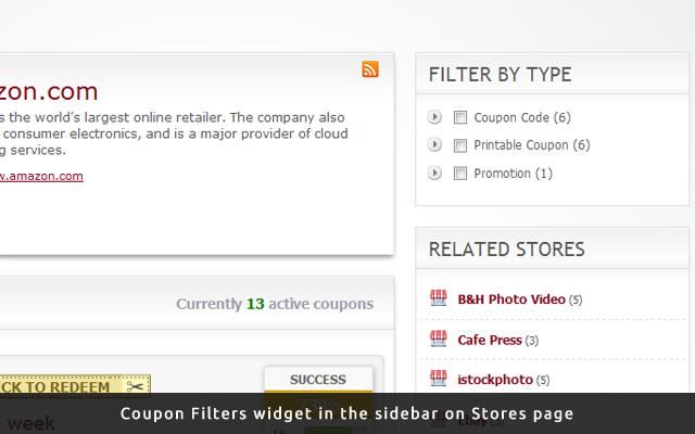 Coupon Filters Plugin